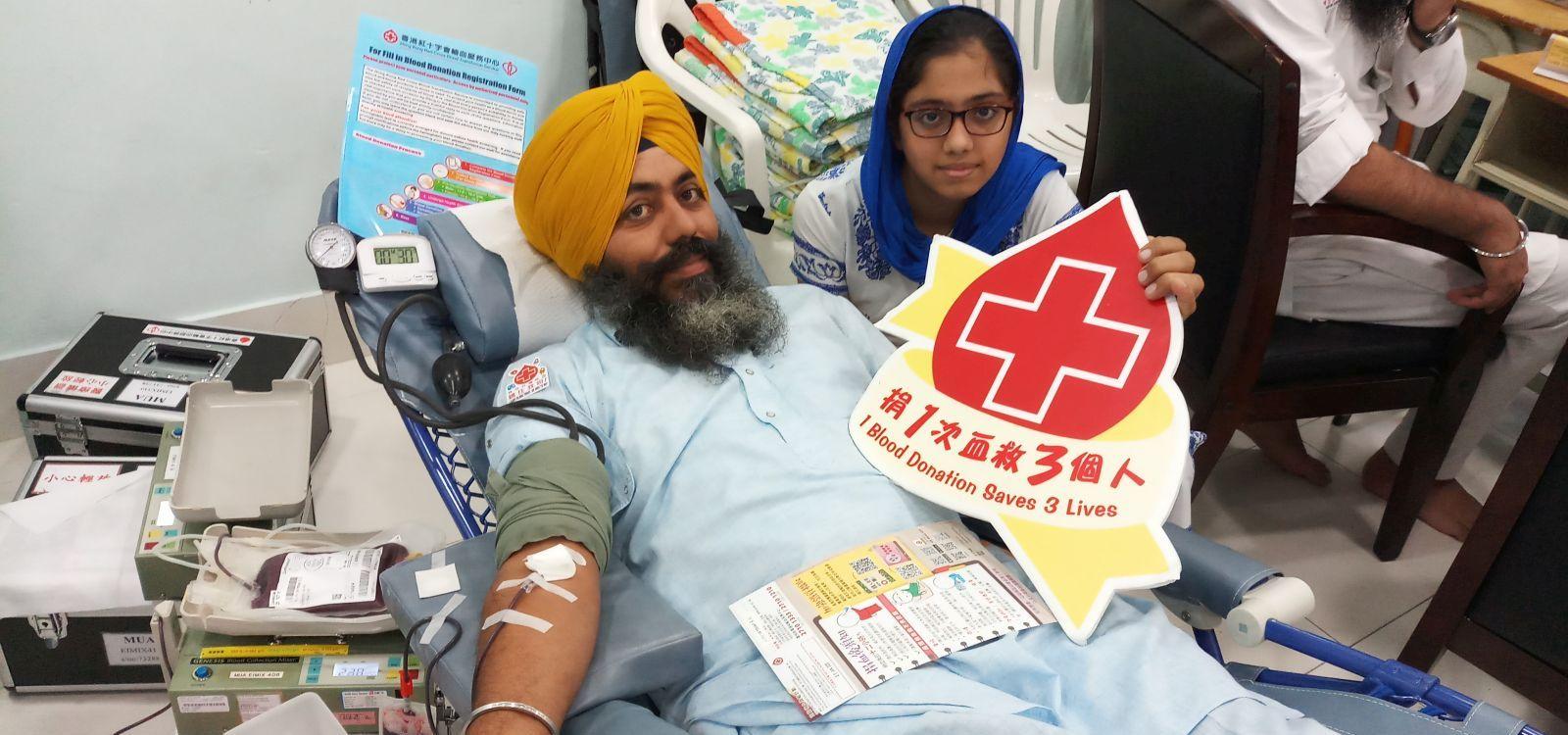 圖片: 流动捐血服务